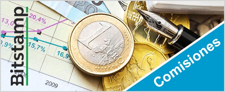tarifas y comisiones del exchange Bitstamp