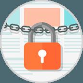 privacidad del sistema Dash