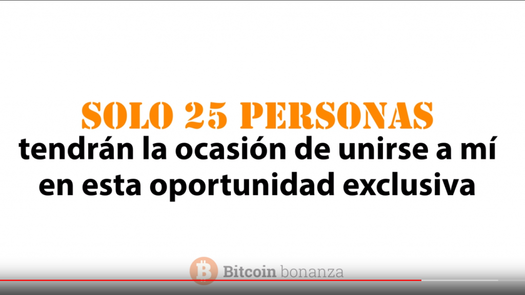 25 personas seleccionadas para bitcoin bonanza