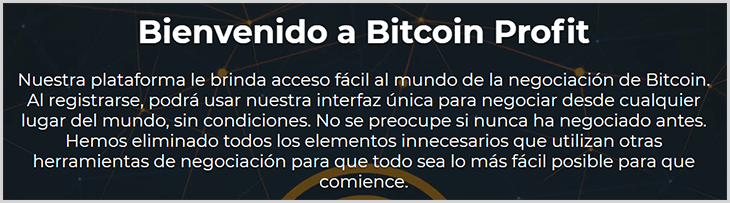 beneficios de bitcoin profit