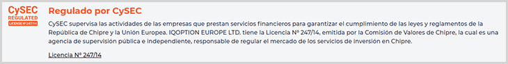 broker regulado por la cysec