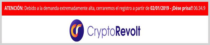 Cryptorevolt no es de fiar