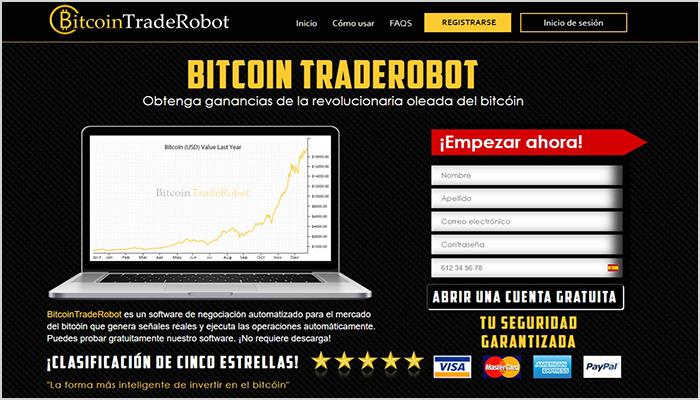 Bitcoin Trade Robot es una plataforma que estafa