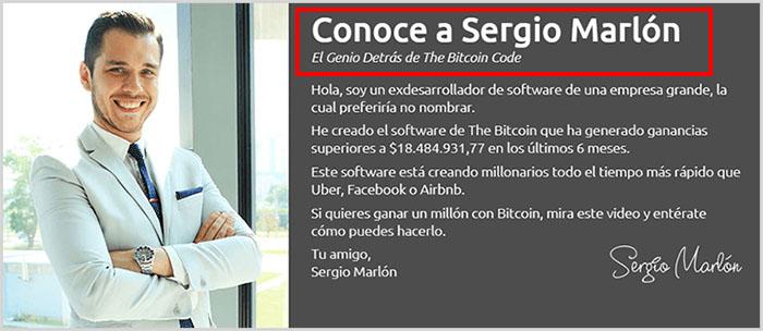 Bitcoin Code y Bitcoins Wealth son la misma estafa fraudulenta y nada de esto es seguro