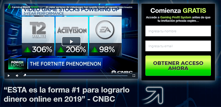 gaming stock profit no está regulado ni funciona