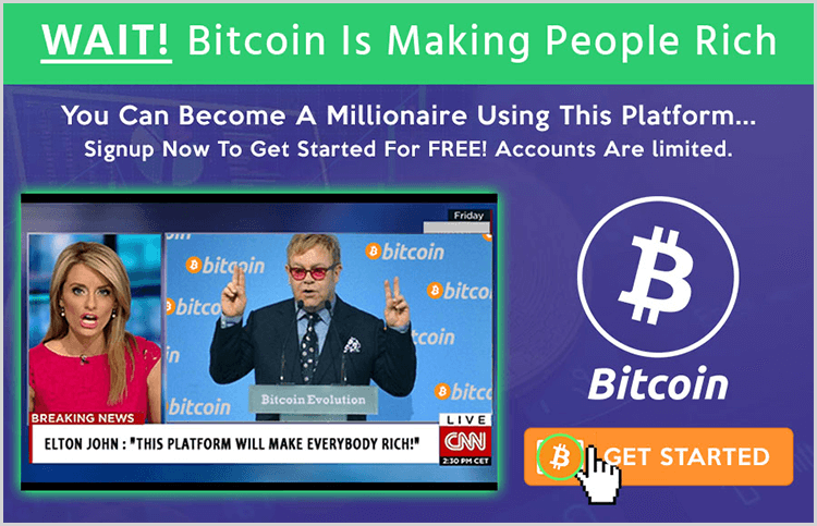 Elton John no ha confesado invertir en Bitcoin Evolution