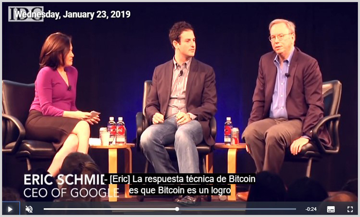 Notica falsa sobre Bitcoin Evolution y Eric Schmid